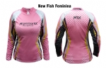 CAMISA M3X FEMININA NEW FISH